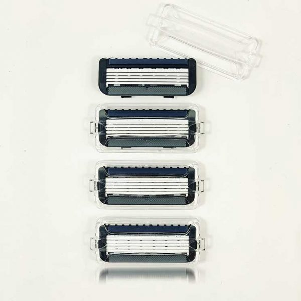 5-Blade + Trimmer Blades Schick Quattro